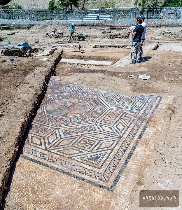 Un site archéologique exceptionnel à Sainte-Colombe, le Bourg (Rhône) |  Archeodunum