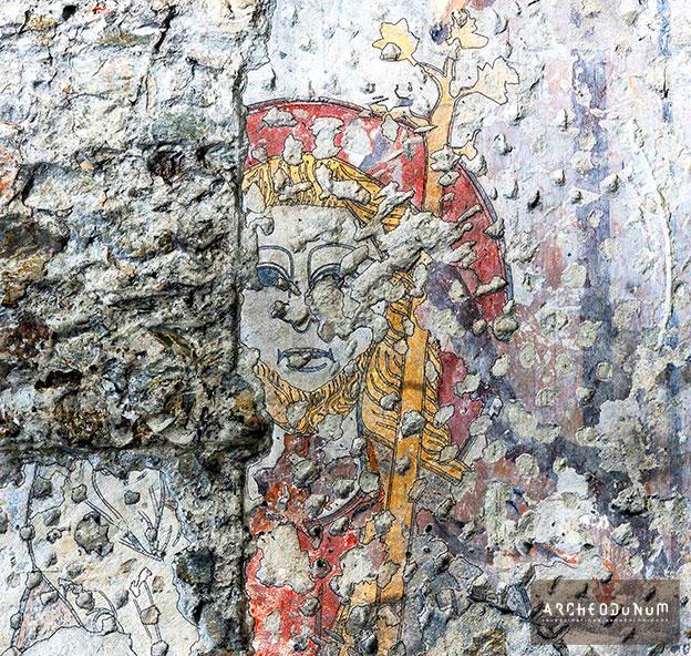 Peinture murale de Saint-Christophe à Vienne (Isère)