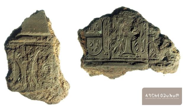 Fragments de moules de cloches (Landarc/Archeodunum)