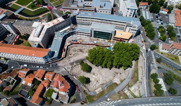 01 - Le chantier vu du ciel © Flore Giraud pour Archeodunum
