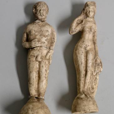 Fig. 9 : La Vénus et le personnage barbu. © Dauphiné Libéré