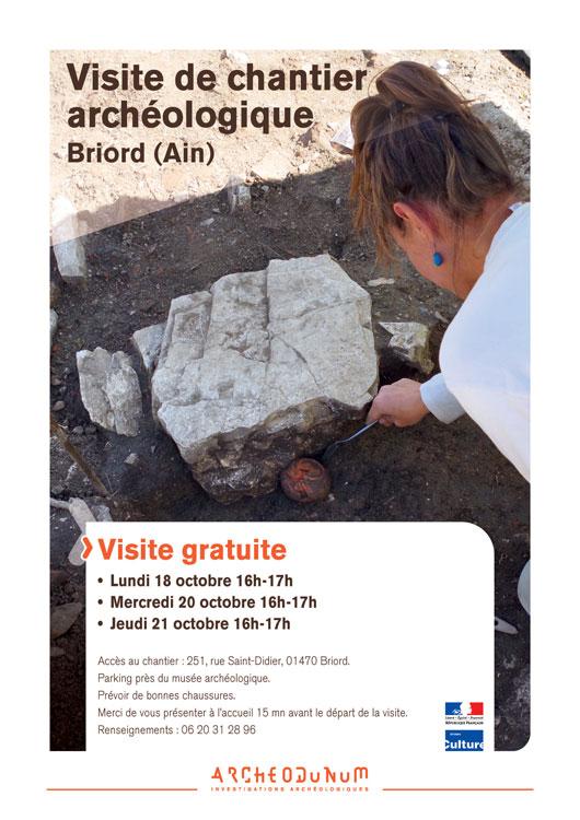 Affiche visite Briord