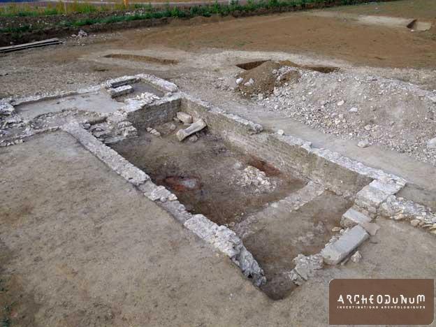 Bâtiment du IVe siècle