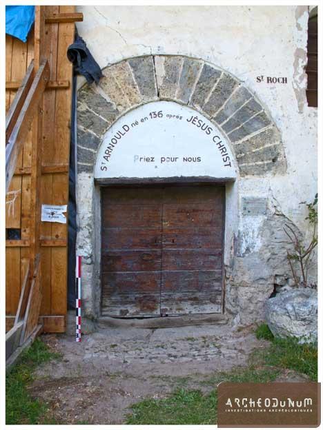 Figure 5 : portail latéral sud