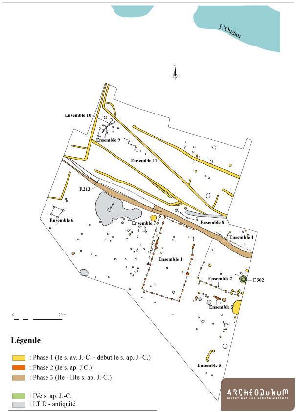 Plan phasé du site