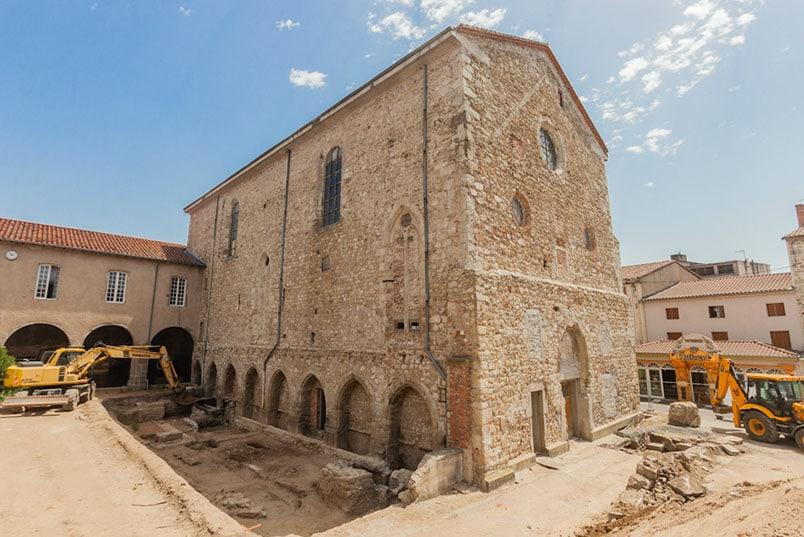 Montbrison - L'église des Cordeliers de Montbrison (42)  (Cliché F. Giraud)