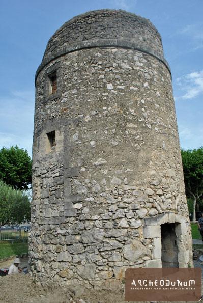 Le moulin avant restauration
