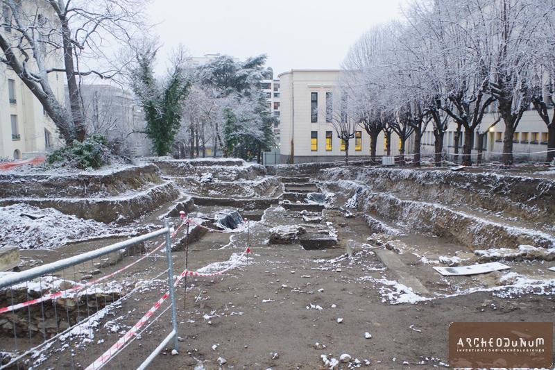 Clermont-Ferrand - Le chantier a démarré en hiver