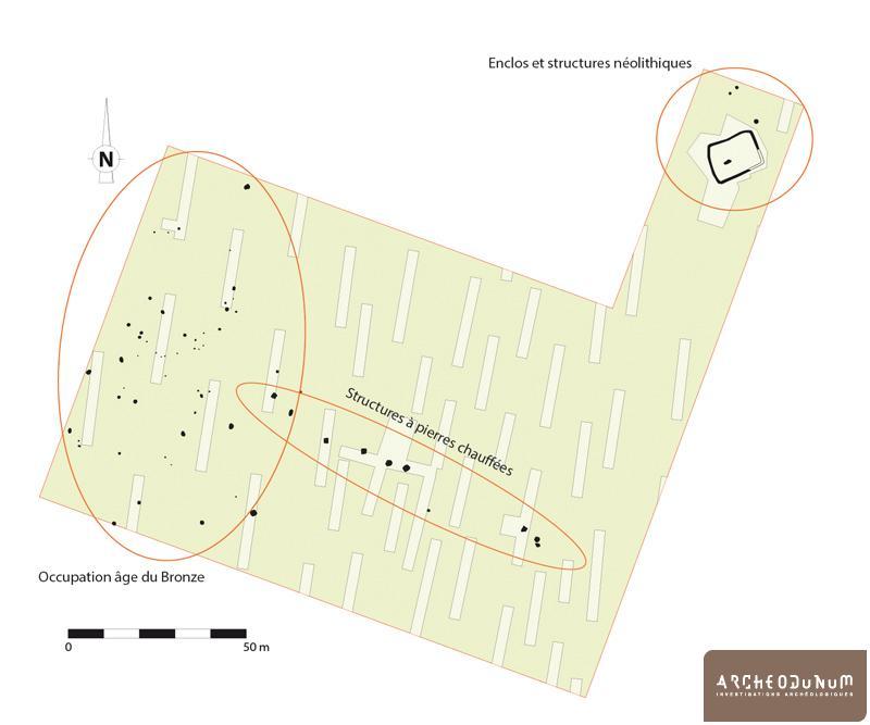Plan général des structures