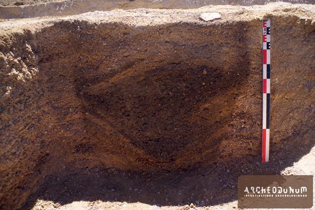 Fig. 10 : Un puits vu en coupe