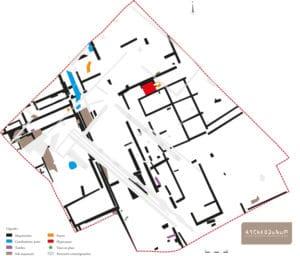 Fig. 3 : Plan général des vestiges
